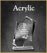 Acrylic Recognition Awards