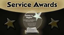 Service Recognition Awards